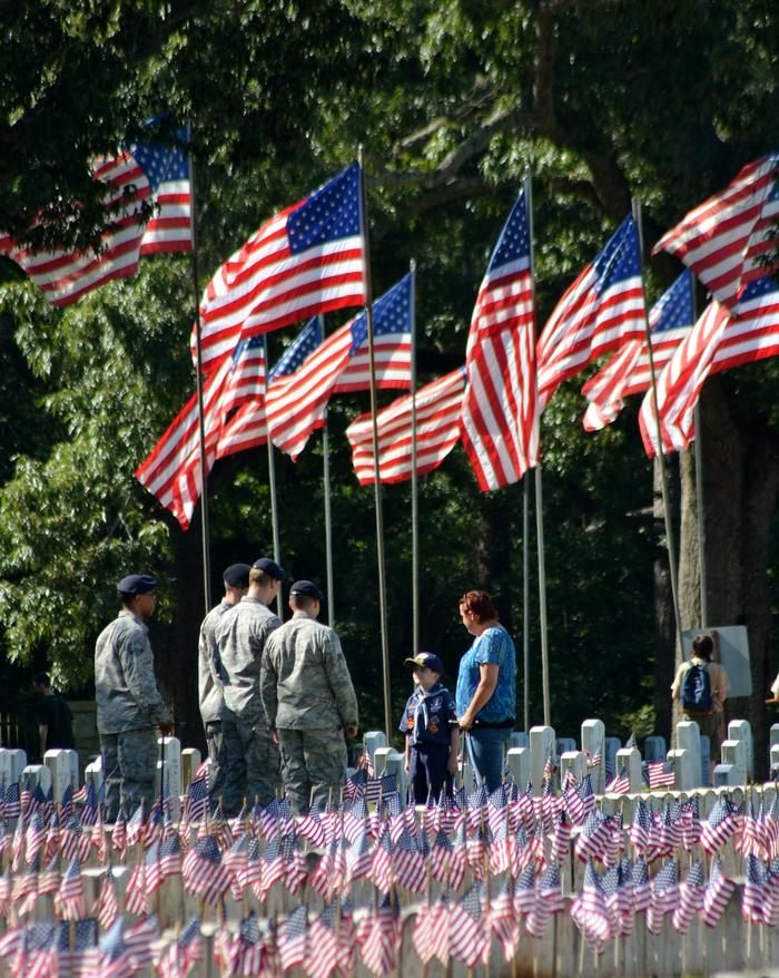 Memorial DayMilitary staff, Boy Scouts, families and others come to honor those buried in Andersonville National Cemetery on Memorial Day weekend.