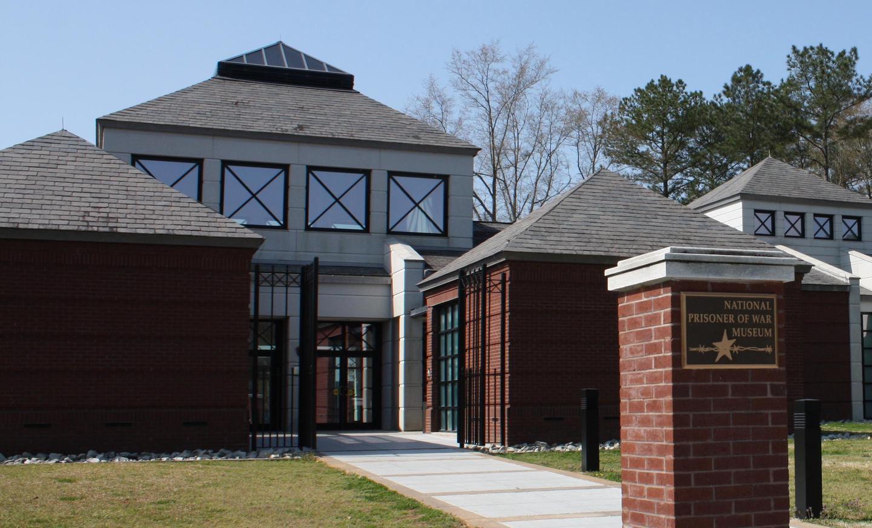National Prisoner of War MuseumThe National Prisoner of War Museum serves as the park's visitor information center.