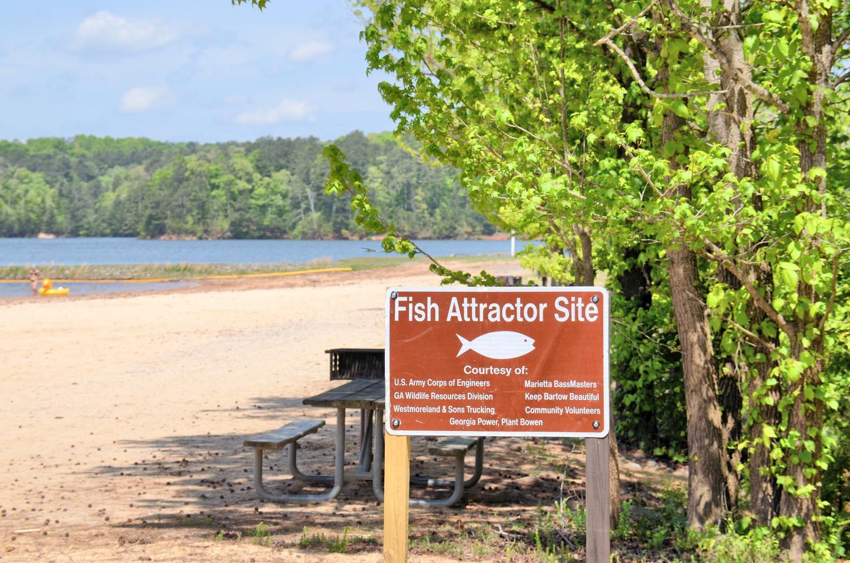 Victoria Day Use Fish Attractor Site