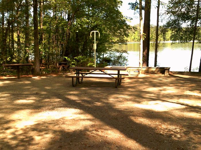 Site 4 picnic table