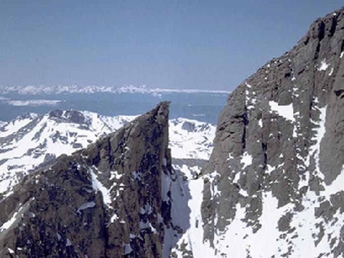 View from Longs PeakLongs Peak Summit View