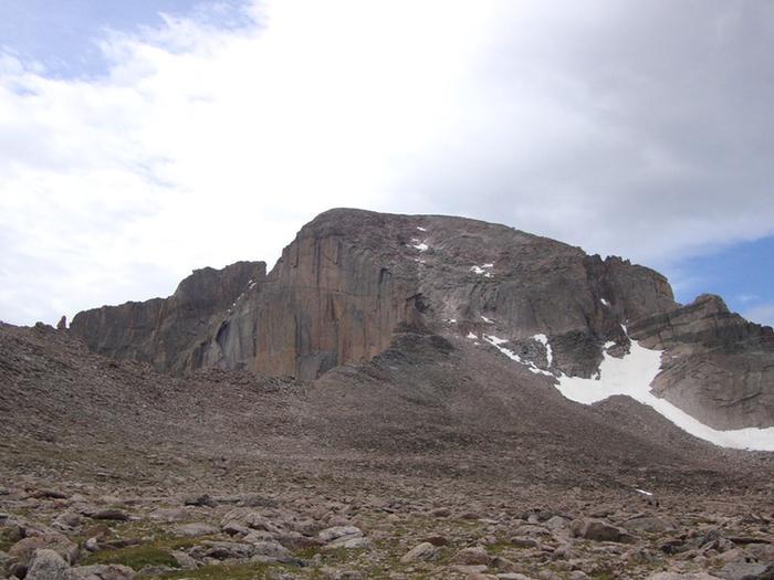 View of the Summit of Longs PeakView of Summit of Longs Peak