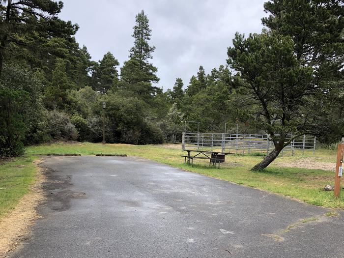 Wild Mare Campground Site #4