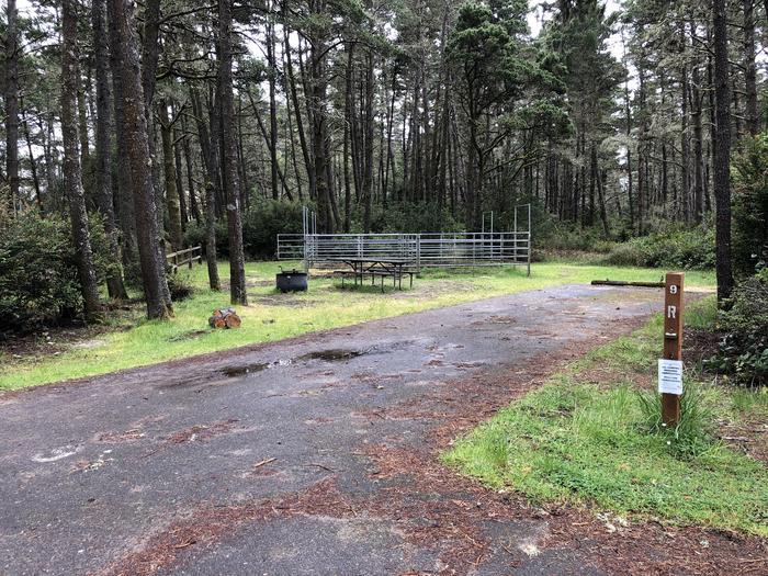 Wild Mare Campground Site #9