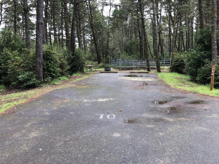 Wild Mare Campground Site #10