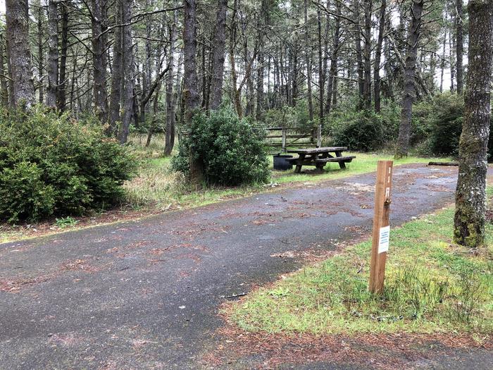 Wild Mare Campground Site #11