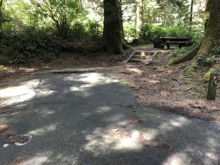 Tahkenitch Campground Site #10