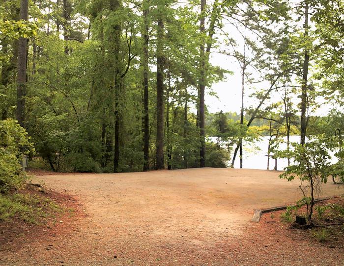 Site 9 Camping pad