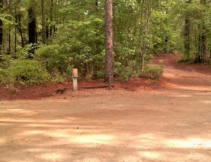 Site 9 Exit driveway