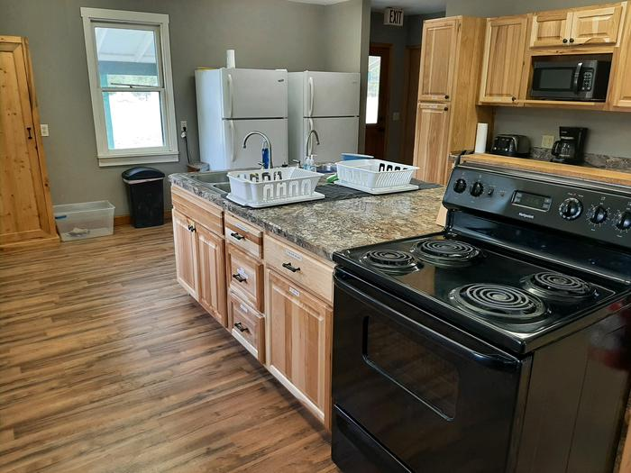 2021 kitchen remodel project completed!Bend Cookhouse Kitchen