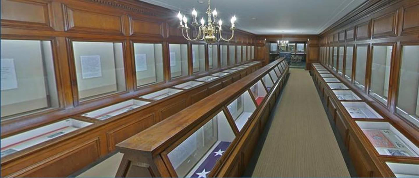 ExhibitsThe exhibits in the visitor center