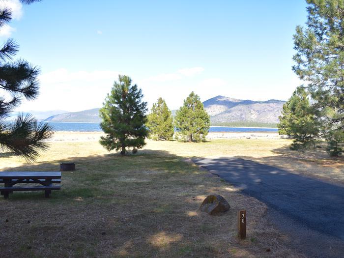 Site #70Merrill Campground, Site #70