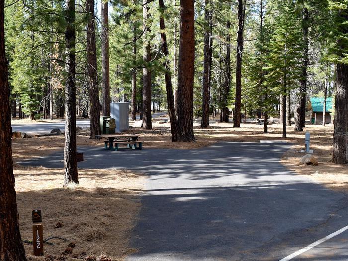 Site #122Merrill Campground, Site #122
