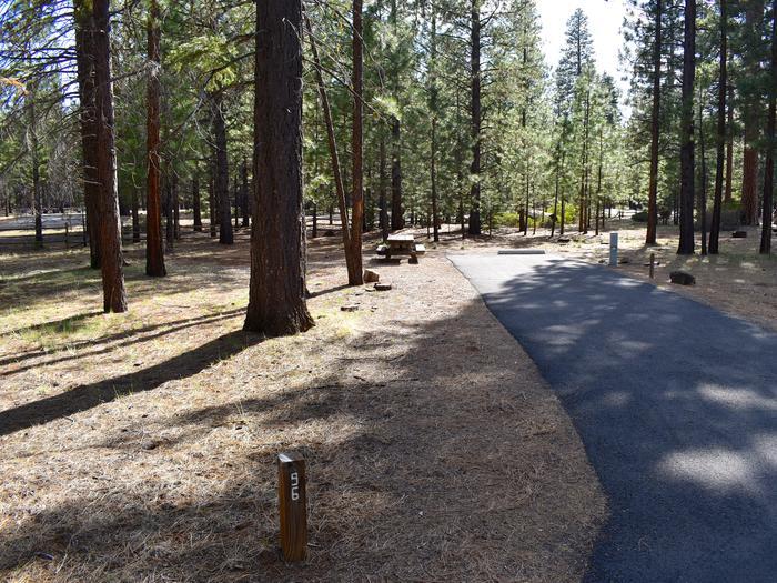 Site #96Merrill Campground, Site #96