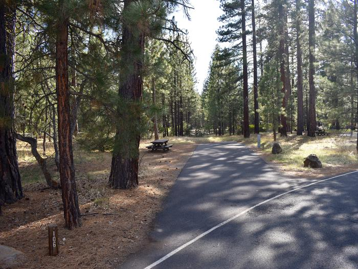 Site #106Merrill Campground, Site #106