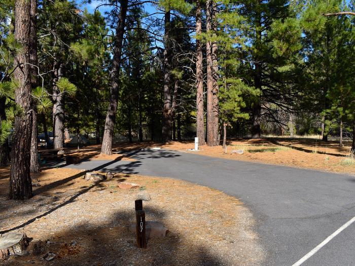 Site #107Merrill Campground, Site #107