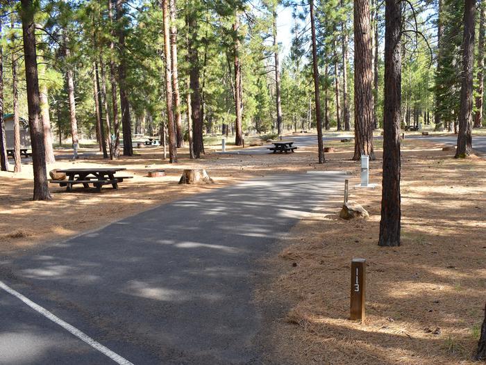Site #113Merrill Campground, Site #113