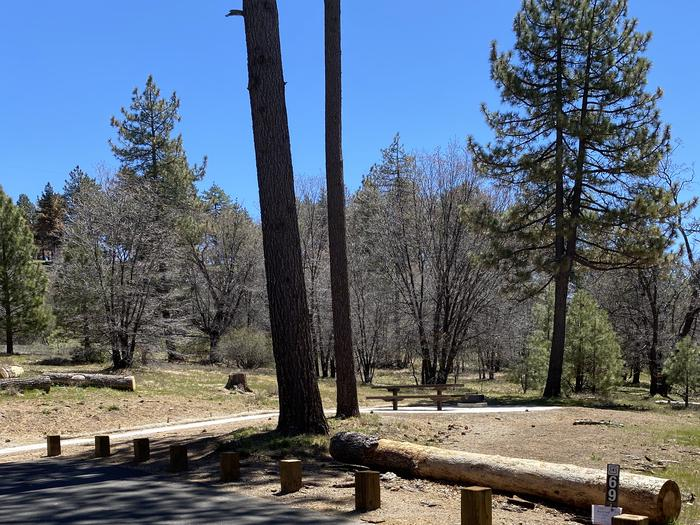 Laguna campsite #69