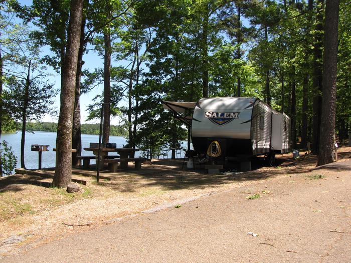 Campsite 59Jim Wylie campsite # 59