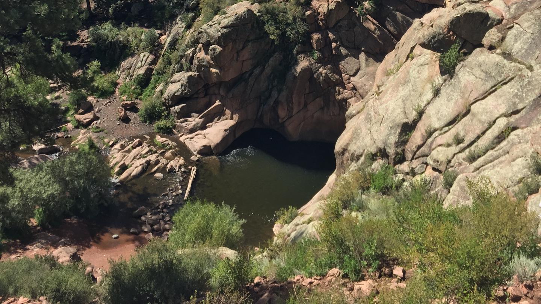 View of waterholeGuffey Gorge