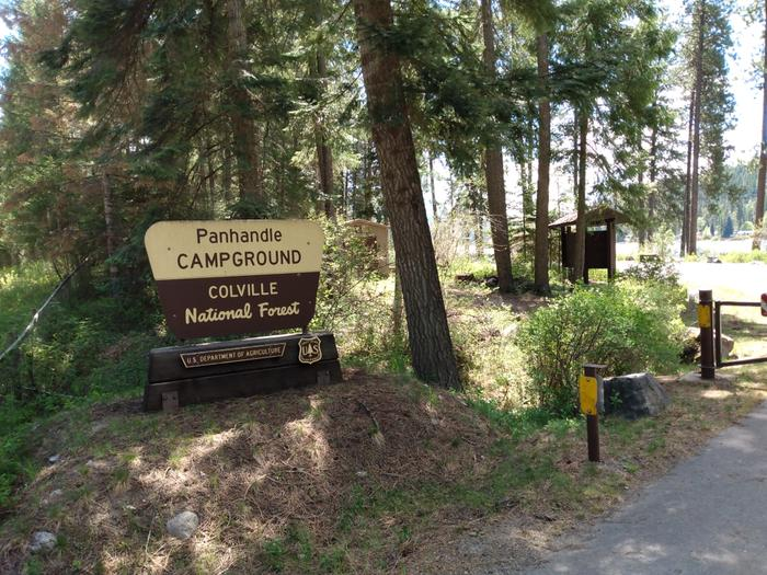 Panhandle Campground Entrance