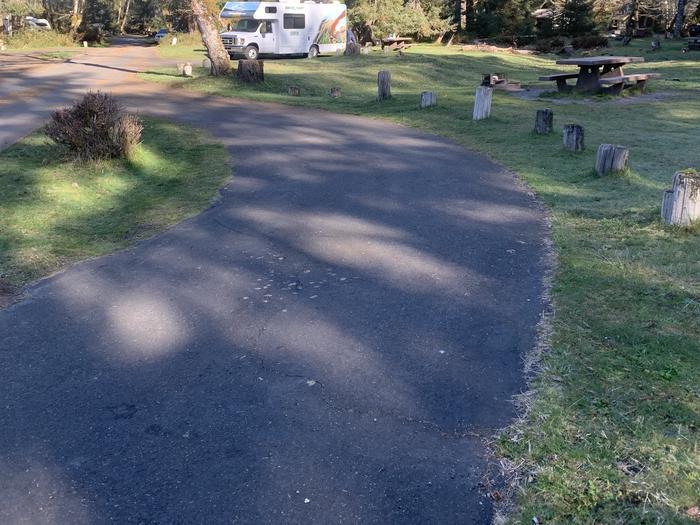 parking area campsite A 27Campsite A 27