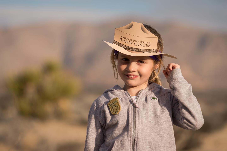 Joshua Tree Junior RangerKids of all ages can take part in Joshua Tree National Park's Junior Ranger program.