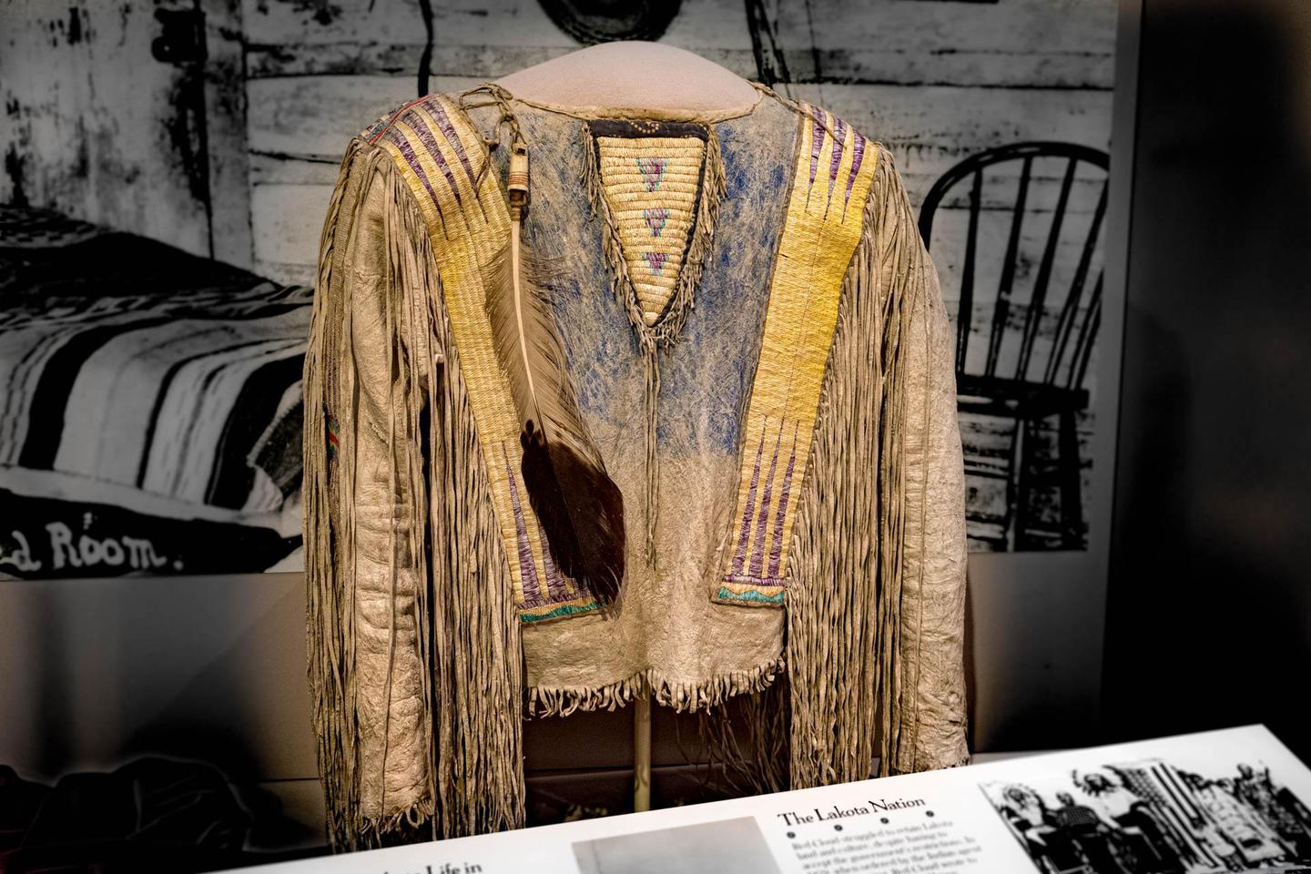 Chief Red Cloud's ShirtLakota Sioux Chief Red Cloud was close friends with rancher James H. Cook, and many historically significant belongings were exchanged as gifts. Including his shirt, now considered of the top 100 most culturally significant artifacts in the country.