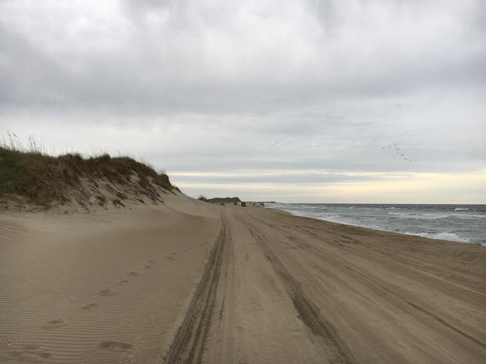 Cape Hatteras National Seashore ORV PermitORV's in remote stretches of beach
