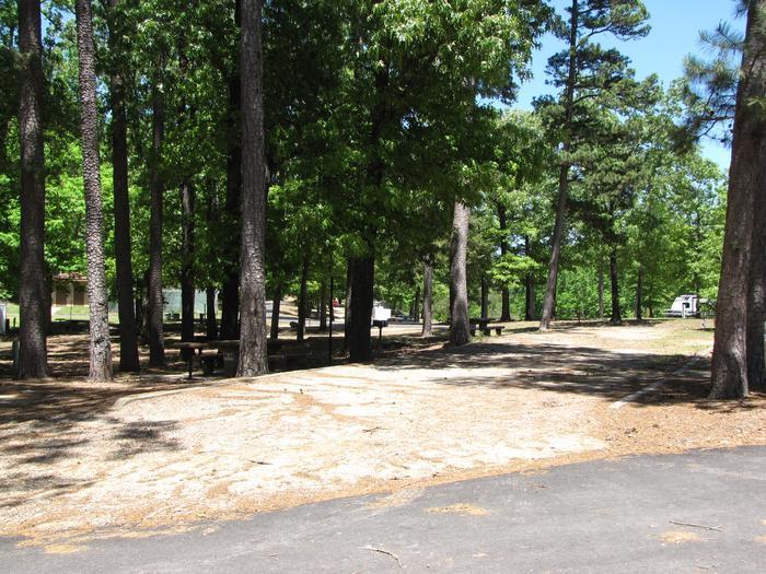 Campsite 10Kirby Landing campsite # 10