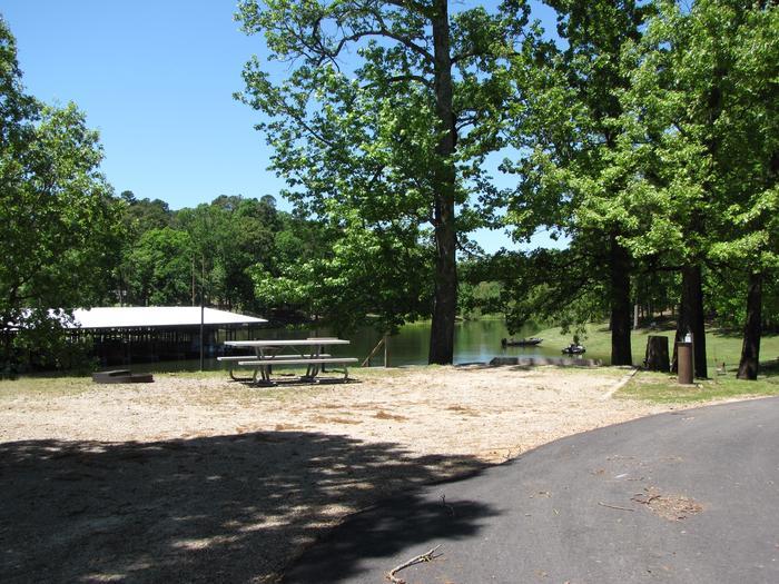 Campsite 12Kirby Landing campsite # 12