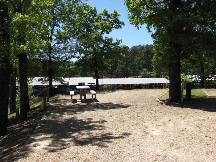 Campsite # 13Kirby Landing campsite # 13