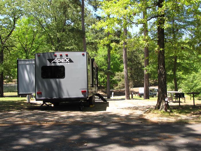 Campsite 23Kirby Landing campsite # 23