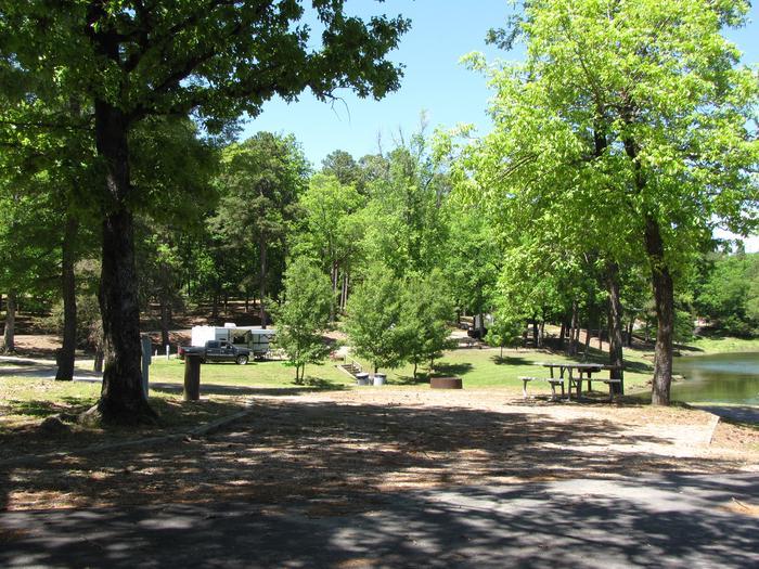 Campsite 24Kirby Landing campsite # 24