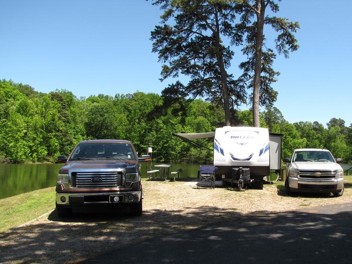 Camspsite 27Kirby Landing campsite # 27