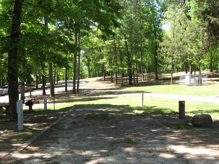Campsite 30Kirby Landing campsite # 30