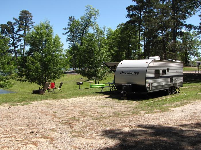 Campsite 31Kirby Landing campsite # 31