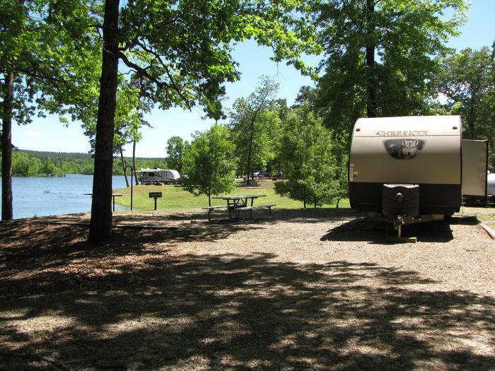 Campsite 32Kirby Landing campsite # 32