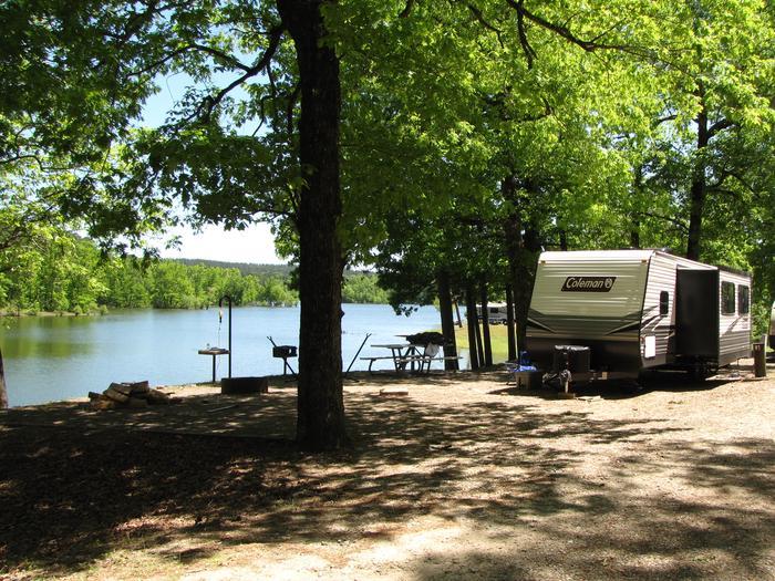 Campsite 33Kirby Landing campsite # 33