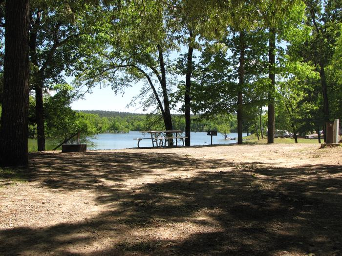 Campsite 34Kirby Landing campsite # 34