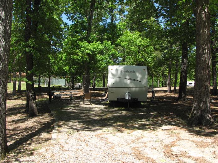 Campsite 08Kirby Landing campsite # 08