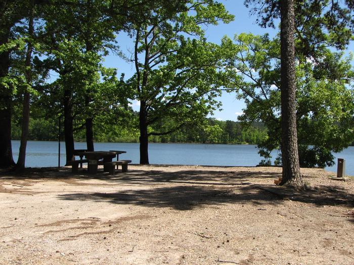Campsite 46Kirby Landing campsite # 46
