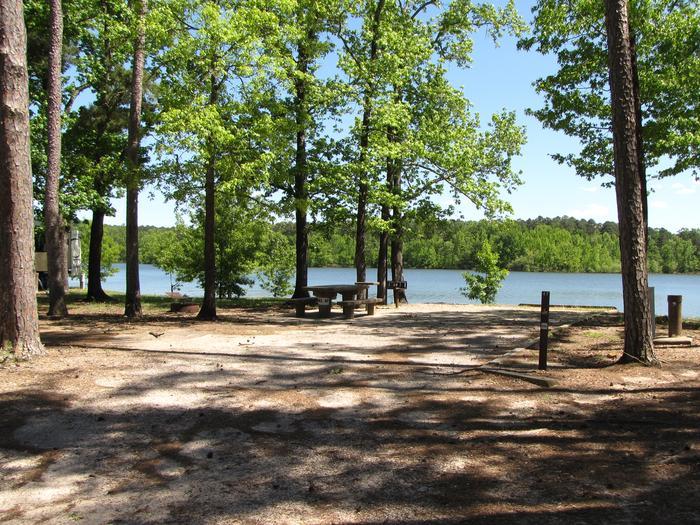Campsite 47Kirby Landing campsite # 47