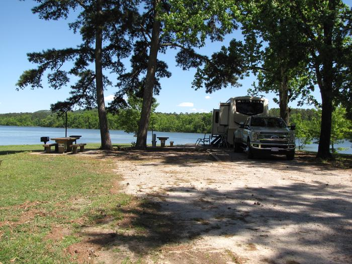 Campsite 48 - Double SiteKirby Landing campsite # 48 - Double Site