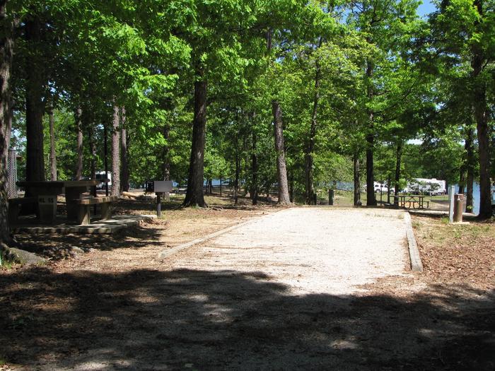 Campsite 55Kirby Landing campsite # 55