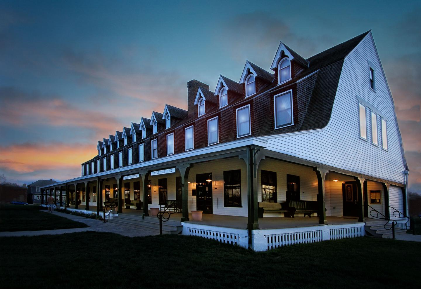 Image of Exterior with Front EntranceA National Historic Landmark, the Sheridan Inn has been entertaining guests since its debut in 1893. One of the inn's greatest claims to fame is that Buffalo Bill Cody managed the location shortly after its original opening.