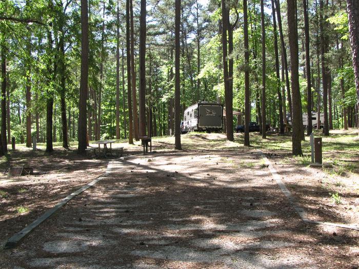 Campsite 78Kirby Landing campsite # 78
