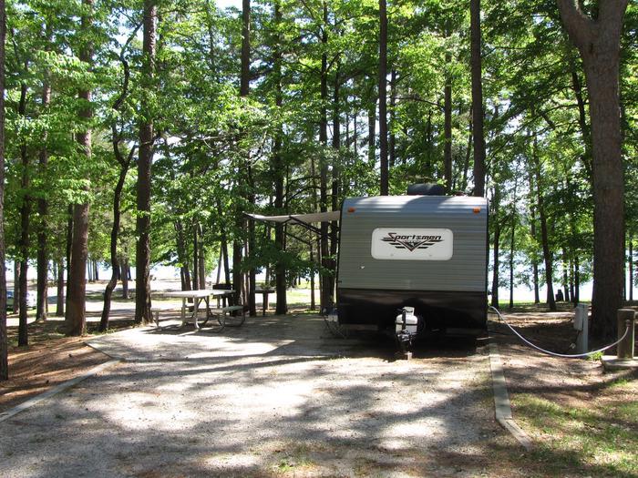 Campsite 75Kirby Landing campsite # 75