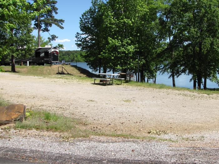 Campsite 96Kirby Landing campsite # 96