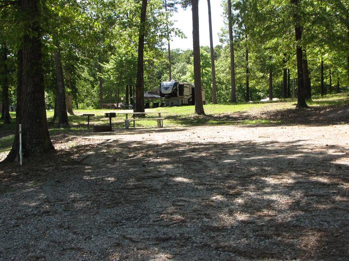 Campsite 97Kirby Landing campsite # 97